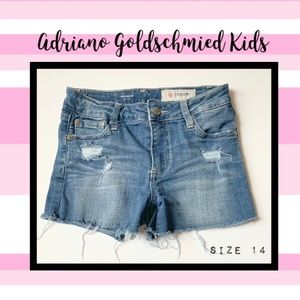 2/$20 AG kids distressed Shelby shorts